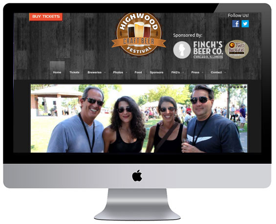 Festival Website by Webology Inc - Click here for live site